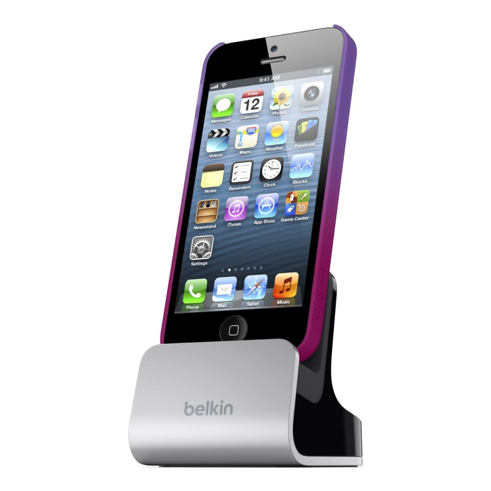 Belkin F8j057vf Lade Synch Dockingstation Silber Iphone Se