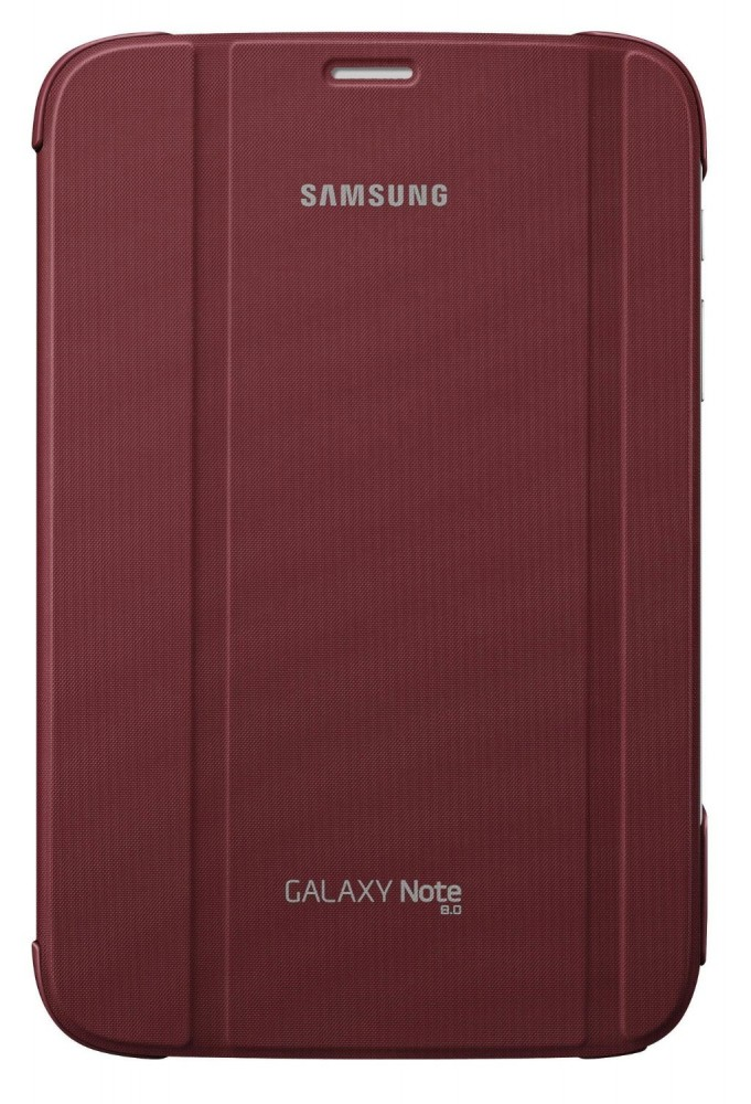 samsung ef bn510bre book cover rot f r samsung galaxy note 8 0. Black Bedroom Furniture Sets. Home Design Ideas